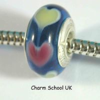 European Style Beads With Sterling Silver Core (8013)